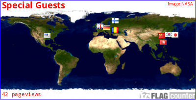 Our Guests all over the WORLD